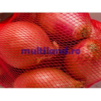 plasa tubulara pentru ambalare legume fructe pentru 2 kg. produs
