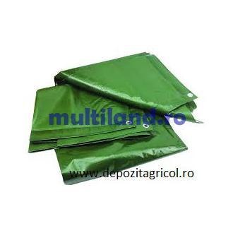 prelata 8 x10 ,110 gr./mp,culoare verde